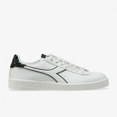 Diadora Game P Donna Wn White/Black Sneakers 101.175063 01 20006
