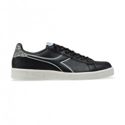 Diadora Game P Donna Wn Black/Silver Sneakers 101.175063 01 80013