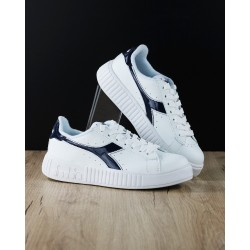 Diadora Game P Step Donna White/Blu 101.174365 01 60063
