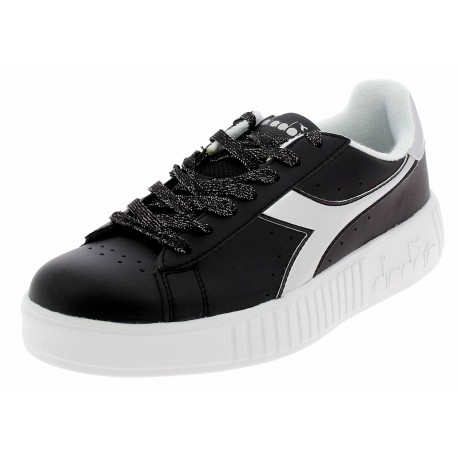 Diadora Game P Step Donna Black/Silver 101.174365 01 C0787