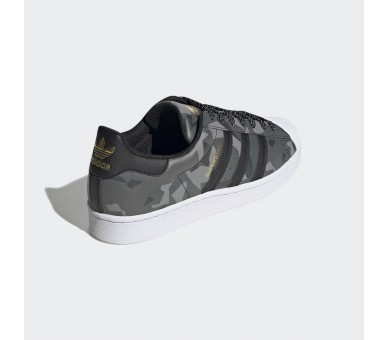 SCARPE Adidas SUPERSTAR Donna Ragazzo FW6012 Core Black / Core Black / Gold Metallic