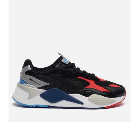 Puma BMW Mms Rs-X3 Uomo 306498-02 Black/Red