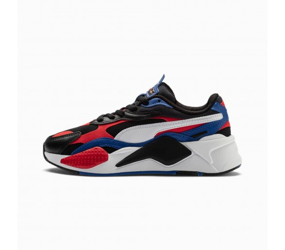 Puma RS-X3 Donna / Ragazzo Bright Jr Black/Red/Blue 375680-01