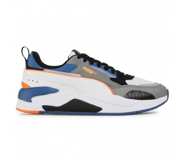 Puma X-Ray 2 Square Uomo White/Gray/Orange 374121-05