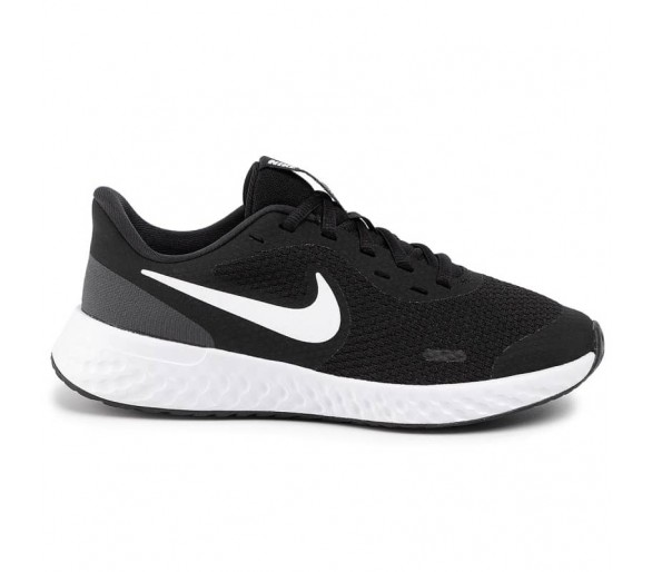 Nike Revolution 5 GS Donna Ragazzo BQ5671-003 Black/White/Anthracite