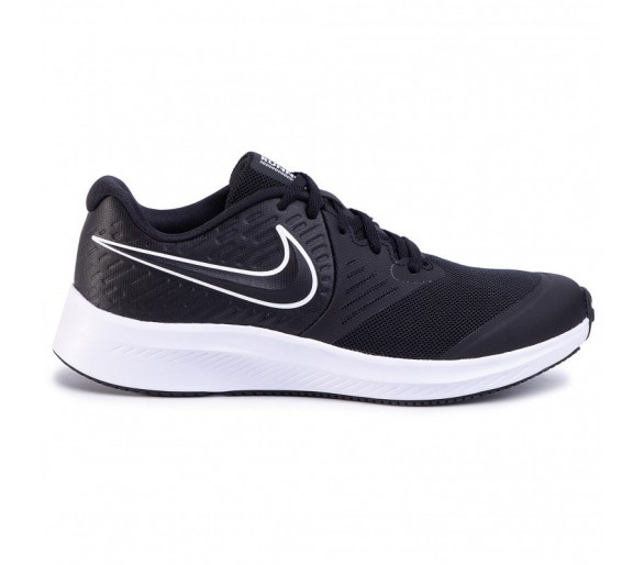 Nike Star Runner 2 Gs AQ3542-001 Black/White