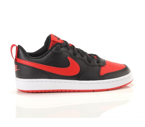 Nike Court Borough Low 2 GS Nero/Rosso BQ5448-007