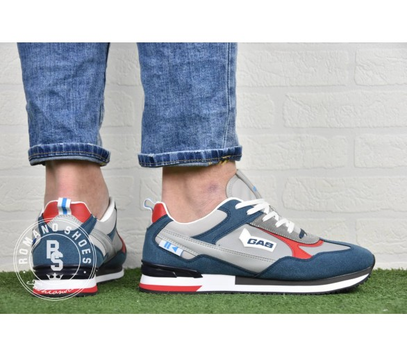 GAS Sneakers Uomo GAM113705-3204 Blue Navy