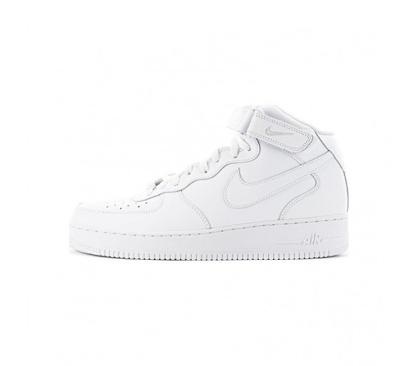 NIKE AIR FORCE 1 MID'07 UOMO CW2289 111 total white