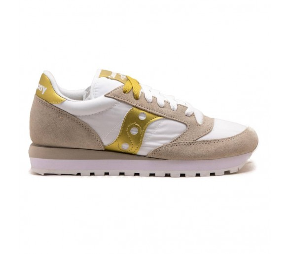 Saucony Jazz Original Donna S1044-611 White/Gold