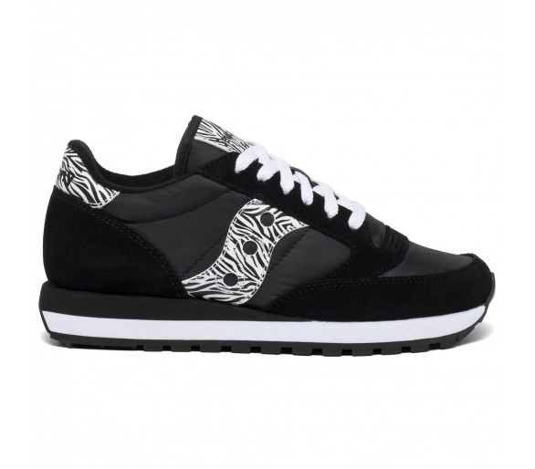 Saucony Jazz Original Donna S1044-596 Black/White/Zebra