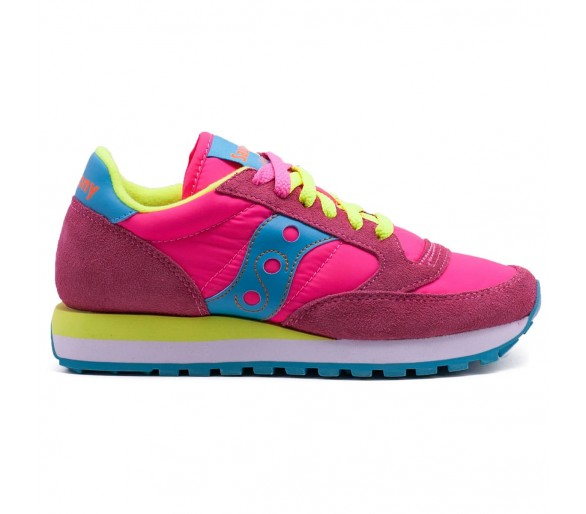 Saucony Jazz Original Donna S1044-293 Pink/Yellow