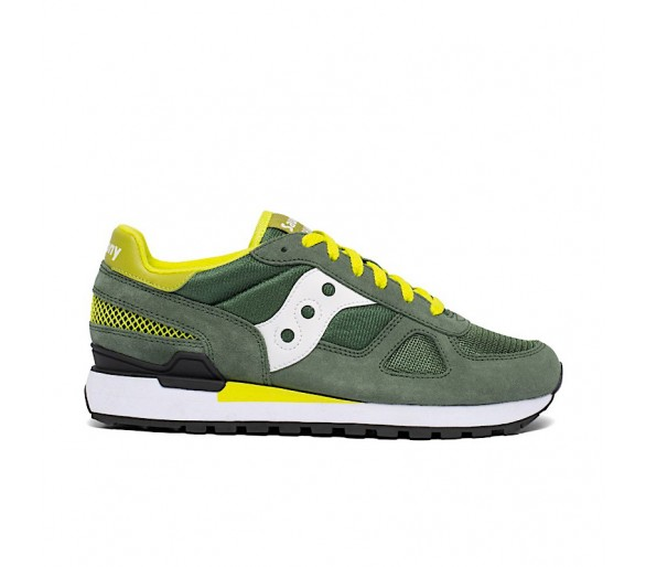 Saucony Shadow Original S2108-776 COLORE : GREEN/WHITE/YELLOW