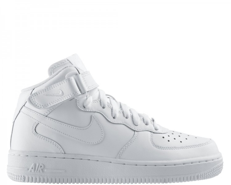 air force 1 donna alte bianche