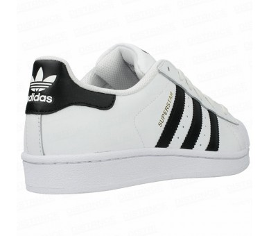 Adidas Superstar J C77154 gold bianco con fasce nere