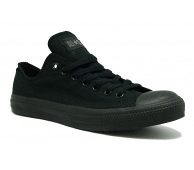 CONVERSE ALL STAR nero total black uomo donna M5039