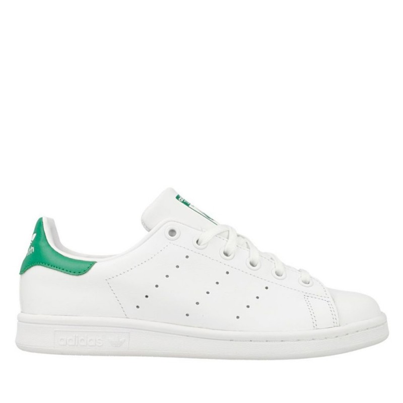 Adidas Stan Smith J bianco verde M20605