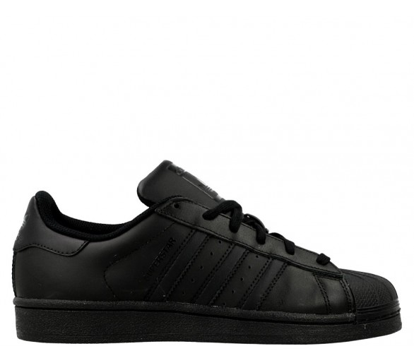 Adidas Superstar Total Black Donna/ragazzo B25724