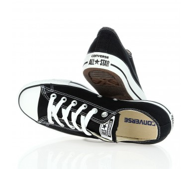 Converse Chuck Taylor All Star basse Black Uomo Donna M9166 Unisex