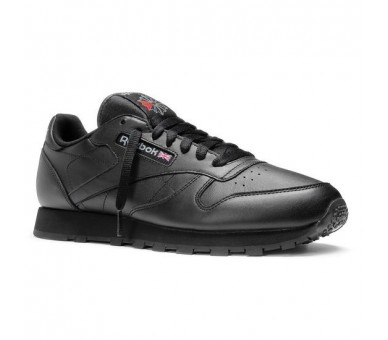 Reebok Classic Leather Black Uomo 2267