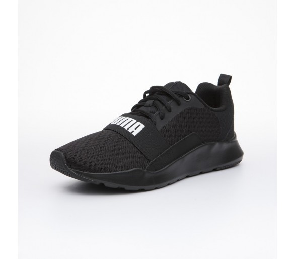 Puma Wired Uomo total black 366970 01