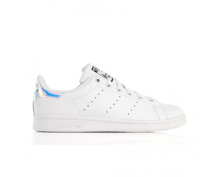 Adidas Stan Smith J AQ6272 Bianco Hologram