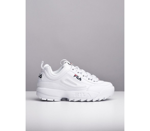 FILA DISTRUPTOR LOW WMN 1010302.1FG. Sneakers Donna Bianco