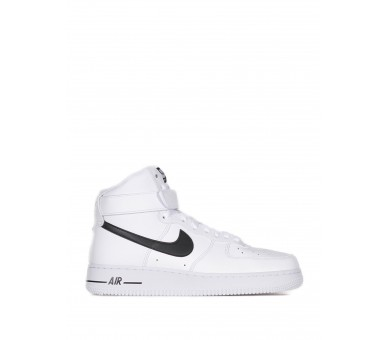 Nike Air Force 1 07 High Bianco Nero Uomo CK4369 100