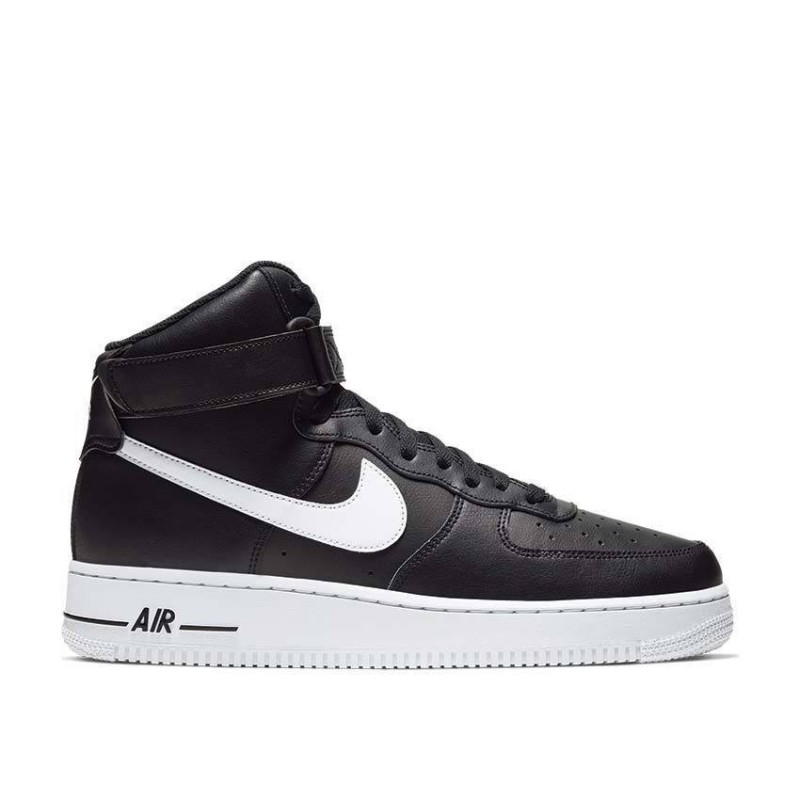 Nike Air Force 1 07 Uomo Nero Bianco CK4369 001 Romano Shoes