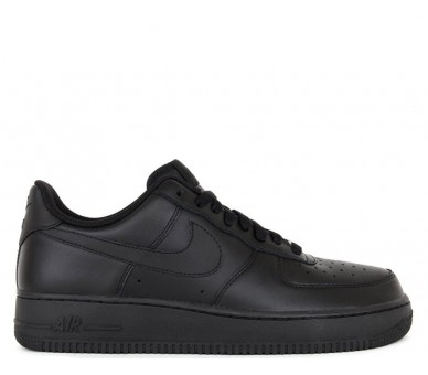 Nike air force 1' 07 Black Uomo 315122-001 Nero