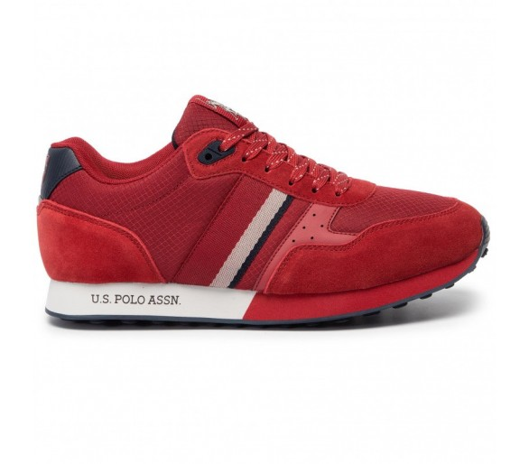 Sneakers U.S. POLO ASSN. Julius1 FLASH4088S9TS/1 Red