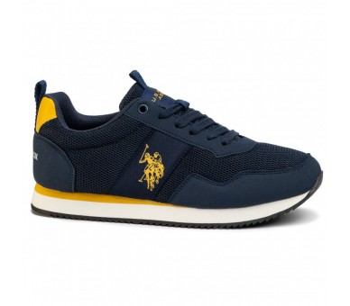 Sneakers U.S. POLO ASSN. Exte NOBIL4250S0/MH1 Blu/Yel
