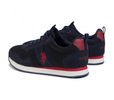 Sneakers U.S. POLO ASSN. Exte NOBIL4250S0/MH1 Dkbl/Red