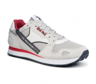 Sneakers U.S. POLO ASSN. Justin FLASH4117S0/YM1 Whi