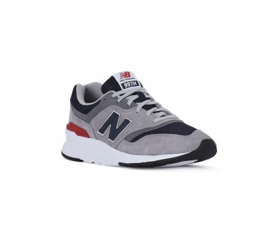 New Balance 997 Grey Navy Red sneakers Uomo CM997HCJ