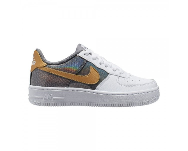 air force 1 nere e oro
