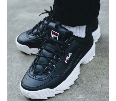 Fila Distruptor Low Nero Uomo Donna 1010262.25Y