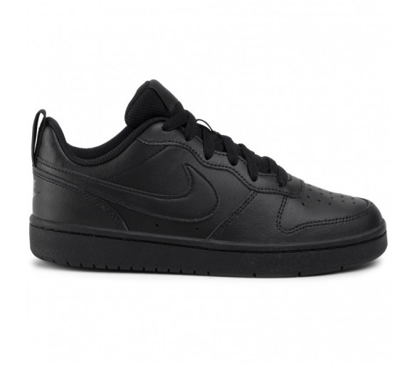 Nike Court Borough Low 2 (GS) BQ5448 001 Black/Black/Black