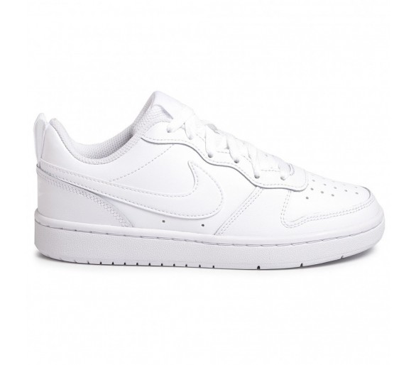 Nike Court Borough Low 2 Donna (GS) BQ5448 100 White/White/White