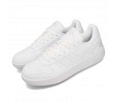 Adidas Hoops 2.0 Uomo Total White B42096