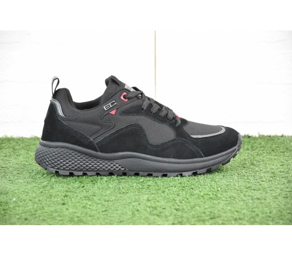 Sneakers Coveri Uomo Decatur NBK LTH Inverno Uomo total black