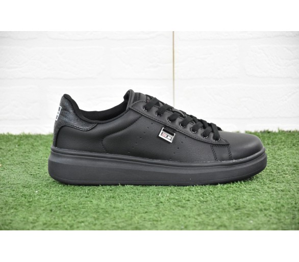 Sneakers Coveri Uomo Benedict Total Black Uomo in pelle 2020
