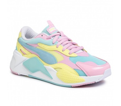 PUMA RS-X3 PLASTIC Donna Multicolore Rosa 371569-05 RS-X
