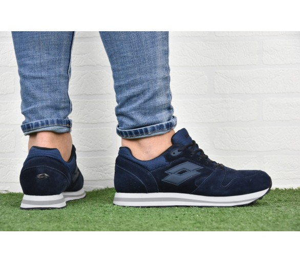 Lotto Trainer XII Sneakers uomo Blu T6501 Navy