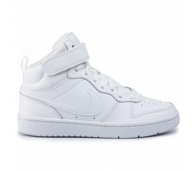 Nike Court Borough Mid Donna / Ragazzo (Gs) CD7782-100 Bianco