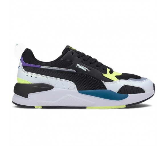 Puma X-Ray 2 Square Uomo Grey/Black/Yel 373108-01