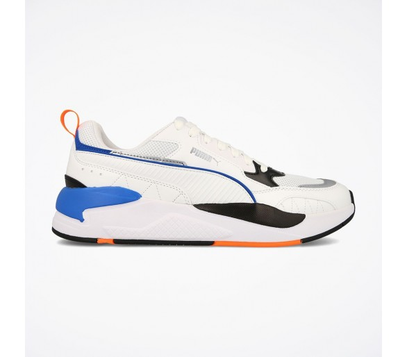 Puma X-Ray 2 Square Uomo White/Orange 373108-02