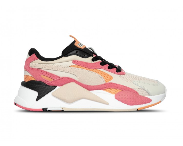Puma RS-X3 Donna Marshmallow Bubblegum 372117-01 Bianco/Rosa