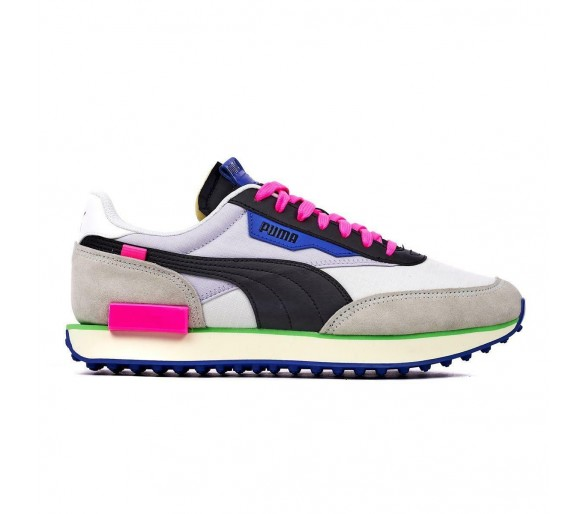 Puma Future Rider Play On Donna White/Grey/Violet 371149-07