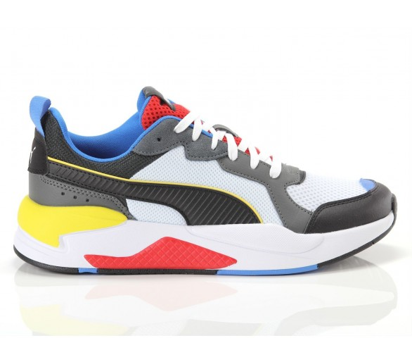 Puma X-Ray White Blk Dk Shadow Red Blue 372602-03 Bianco/Blu